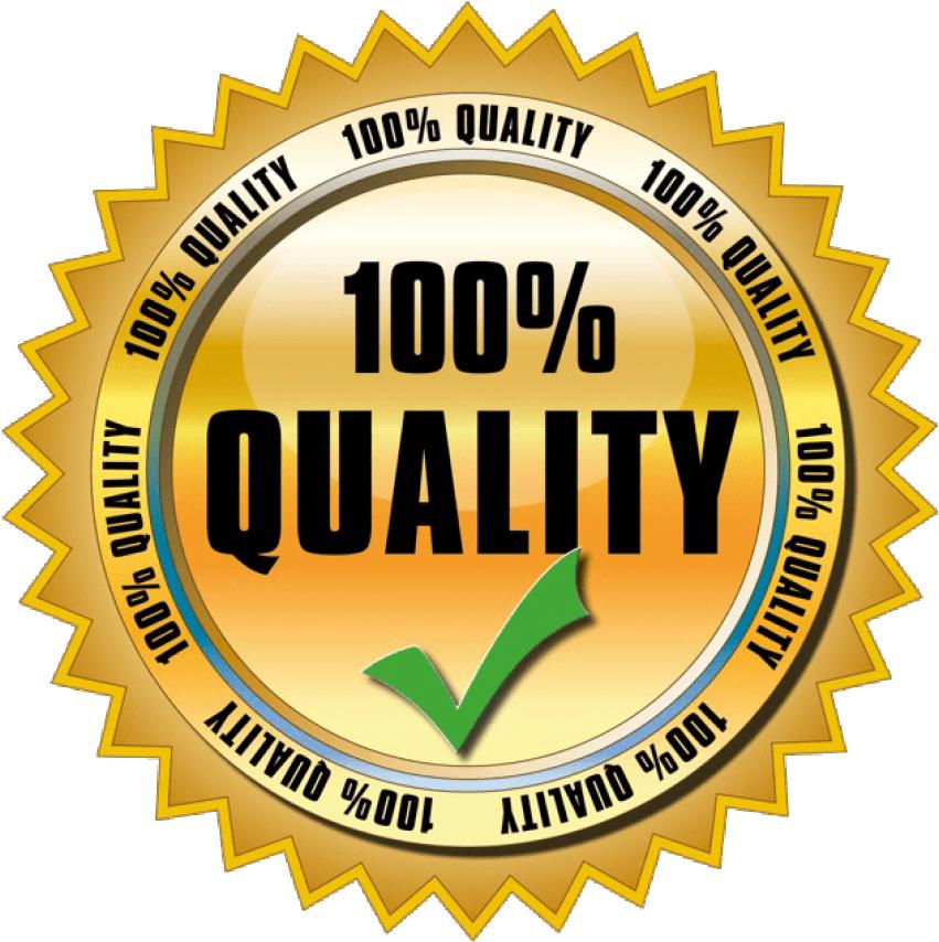 100% Best quality badge
